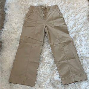 Khaki gap pants